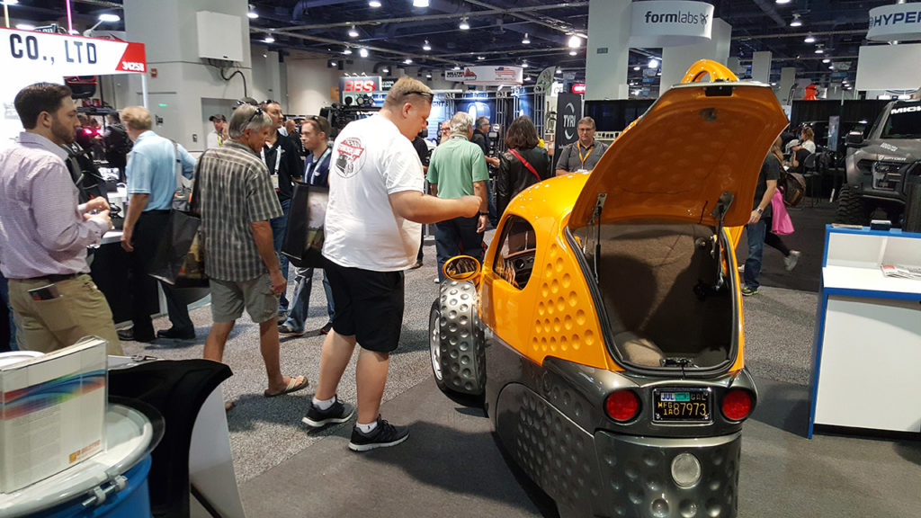 San Francisco Auto Show Sparrow EV - When is the next car show